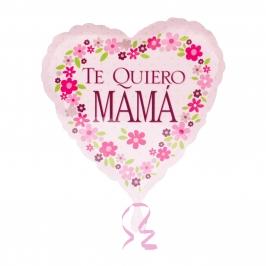 Globo en forma de corazón Te quiero Mamá 43cm