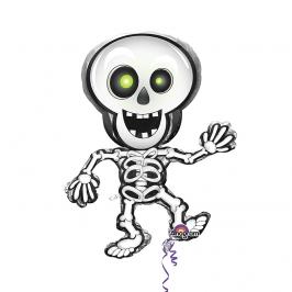 Globo esqueleto bailarín