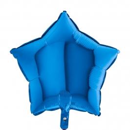 Globo Estrella Azul 45 cm