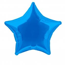 Globo Estrella Azul Intenso 50 cm