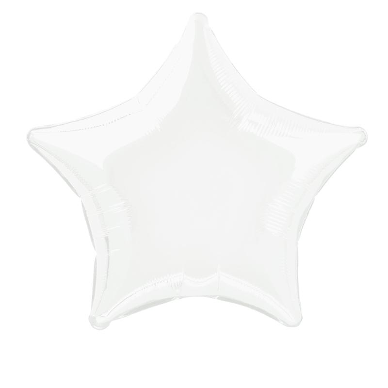 Globo Estrella Blanca 50 cm