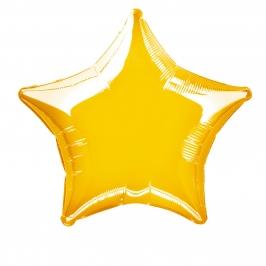 Globo Estrella Dorada 50 cm