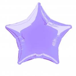 Globo Estrella Lila 50 cm