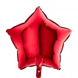 Globo Estrella Roja 45 cm