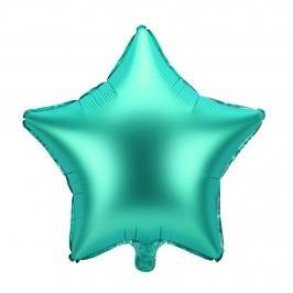 Globo Estrella Verde 48 cm