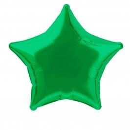 Globo Estrella Verde 50 cm