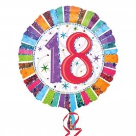 Globo Feliz 18 Cumpleaños