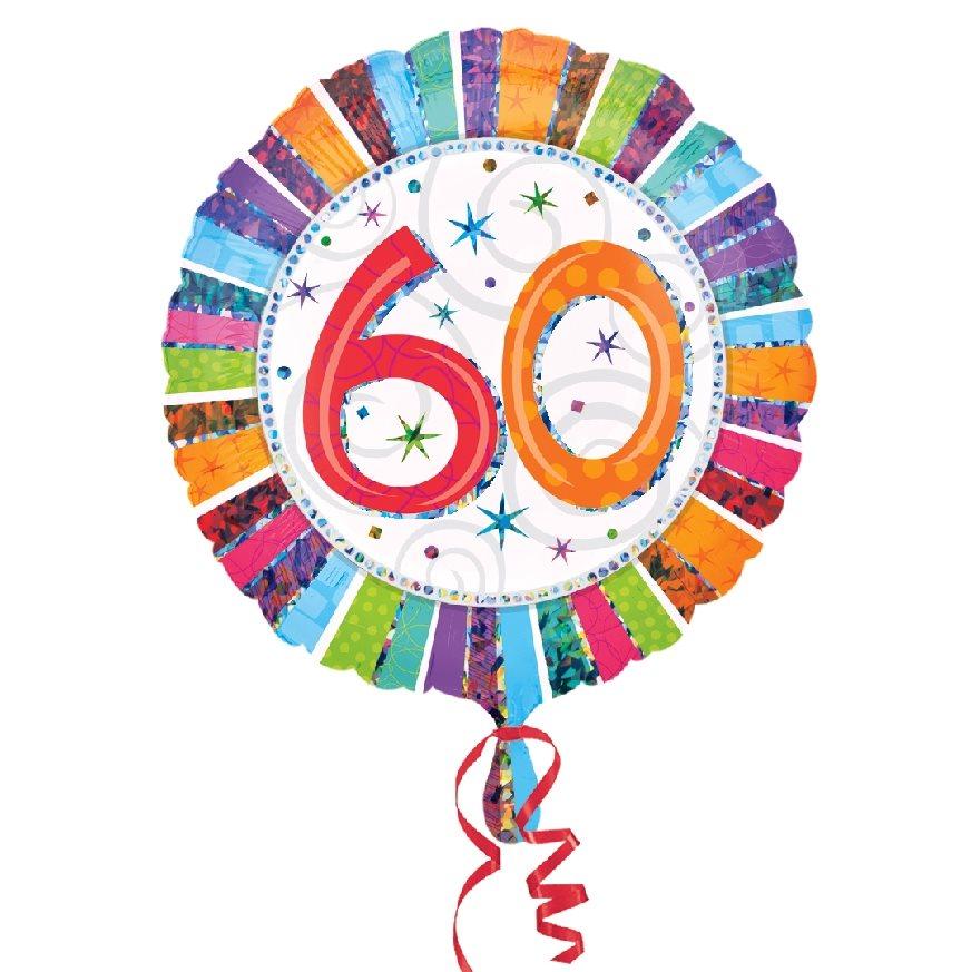 Globo Feliz 60 Cumpleaños