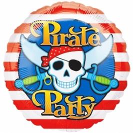 Globo fiesta Pirata