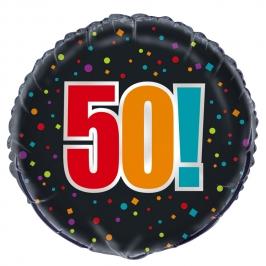Globo Foil 50 Años