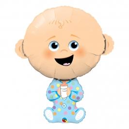 Globo Foil Bebé Niño 97 cm