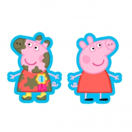 Globo Foil Peppa Pig 2 Caras 50 cm