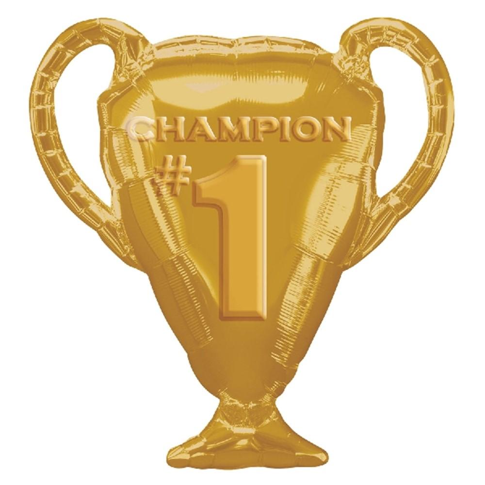 Globo trofeo campeón