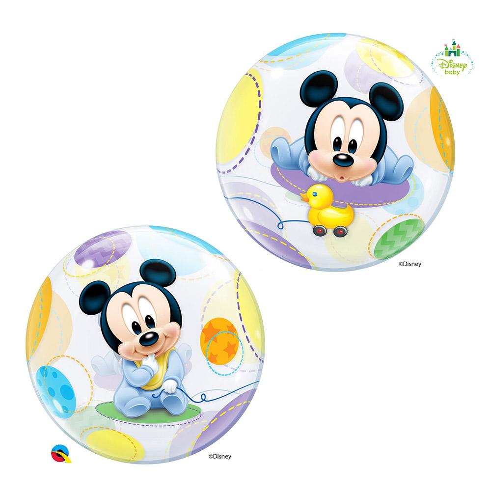 Globo Gigante 2 Caras Baby Mickey Mouse 56 cm