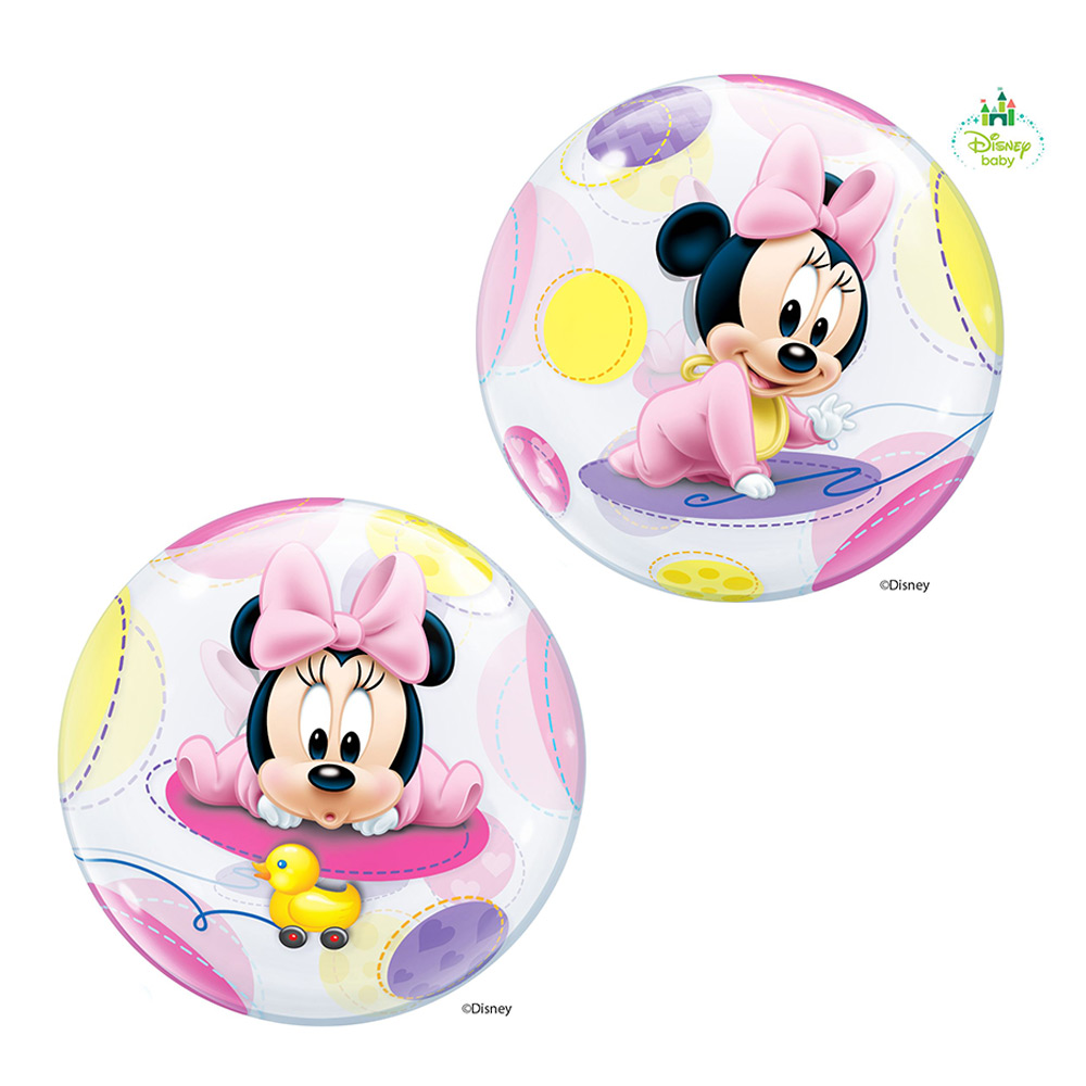 Globo Gigante 2 Caras Baby Minnie Mouse 56 cm
