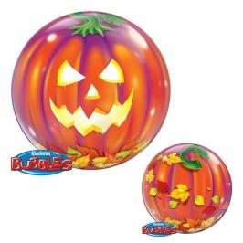 Globo Gigante 2 Caras Calabaza Halloween 56 cm