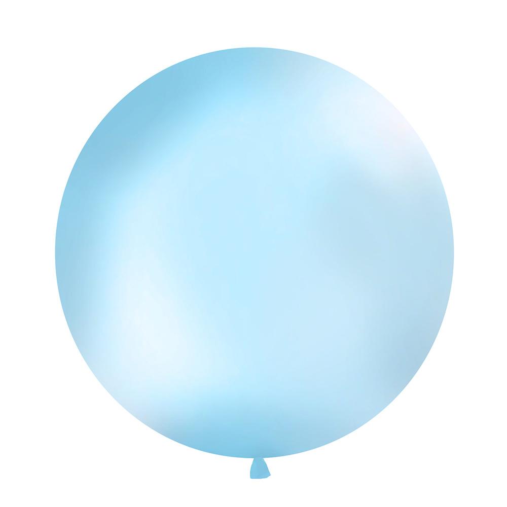 Globo Gigante Azul Cielo 1 m