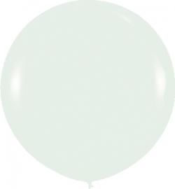 Globo gigante color perla satinada