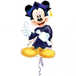 Globo Graduación Mickey