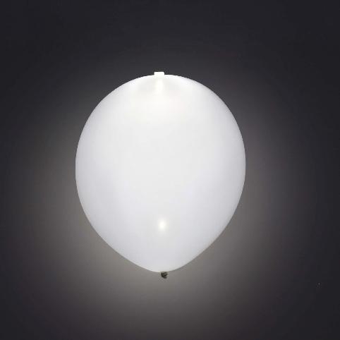 Globo LED color Blanco 5 Unidades
