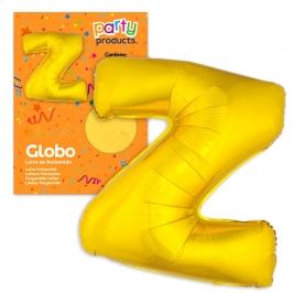 Globo Letra Z Dorado 1 Metro