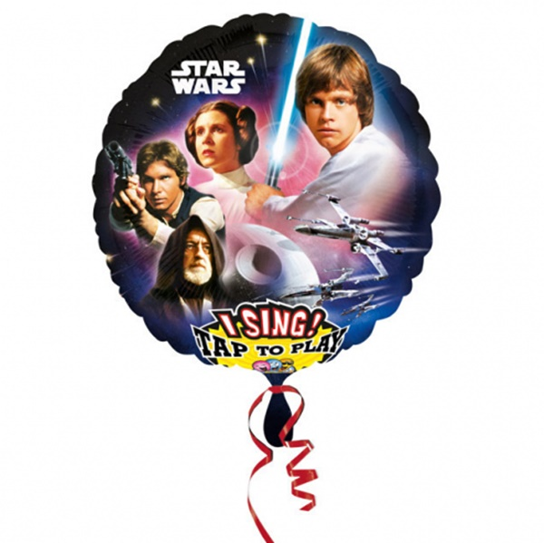 Globo Musical Star Wars 70 cm
