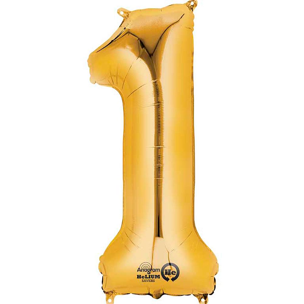 Globo nº 1 Dorado 86 cm