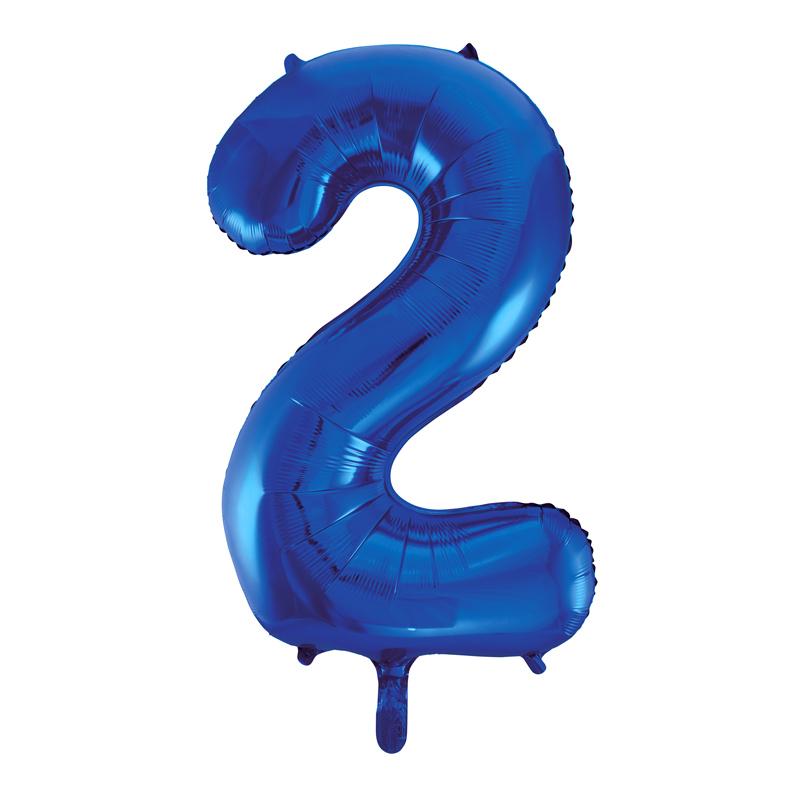 Globo Nº 2 Azul 86 cm