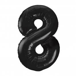 Globo Nº 8 Negro 86 cm