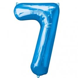 Globo Nº7 Azul 1m