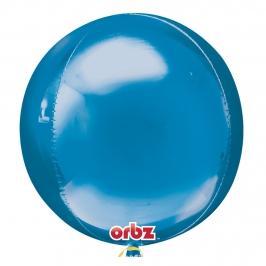 Globo Orbz Azul 40 cm