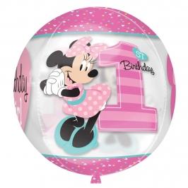 Globo Orbz Minnie Mouse 40 cm