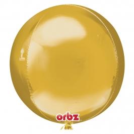 Globo Orbz Oro 40 cm