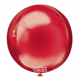 Globo Orbz Rojo 40 cm