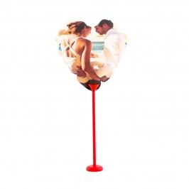 Globo Personalizado Corazón Doble Cara 13 cm - My Karamelli