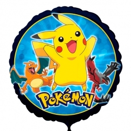 Globo Redondo Pokémon 43 cm