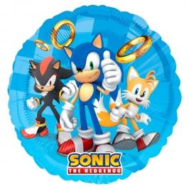 Globo Redondo Sonic 45 cm