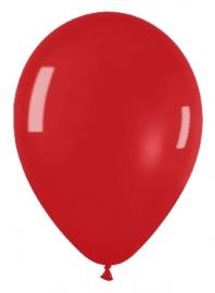 Pack de 10 globos rojo cristal