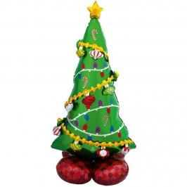 Globo Decorativo Árbol de Navidad 149 cm