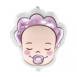 Globo Bebé Rosa 45 cm