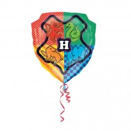 Globo Foil Escudo Hogwarts Harry Potter 68 cm