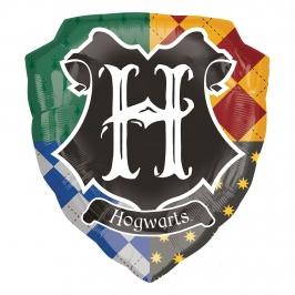 Globo Foil Hogwarts Harry Potter 68 cm