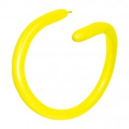 Globos Alargados Globoflexia Amarillos 360S