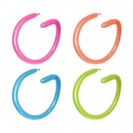 Globos alargados para globoflexia en colores neon de 260S