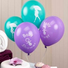 Globos Baby Shower 8 unidades