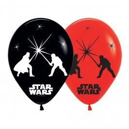 Pack 5 Globos Luz Led Star Wars