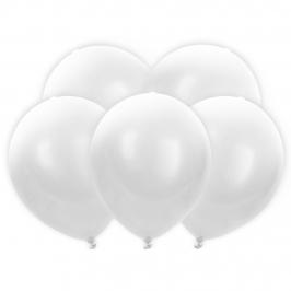 Globos LED Color Blanco 5 Unidades