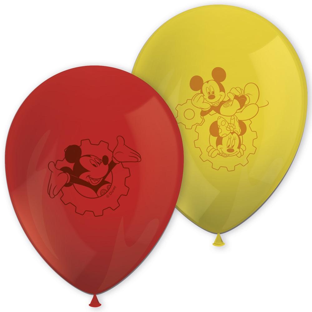 Globos Mickey Mouse 8 unidades