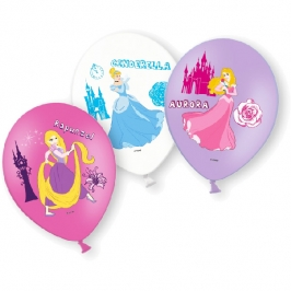 Globos Princesas Disney 6 Unidades