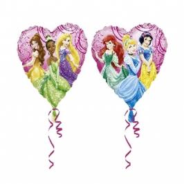 Globo princesas disney forma corazón